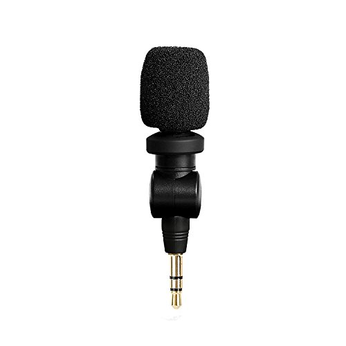 Saramonic XM1 3.5mm TRS Microphone for DSLR Cameras,Omnidirectional Mic for Camcorders,Digital Voice Recorder,CaMixer, SmartMixer, LavMic, SmartRig+ and UWMIC9/UWMIC10/UWMIC15, GoPro Hero2/3