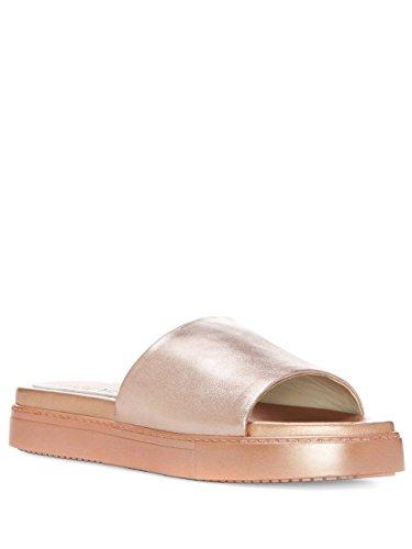 1.State Joaquin Women Open Toe Slides Sandal, Rose Metallic (7 M US, Rose Metallic)