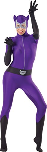 Superhero Outfit Women (Rubie's Costume Women's Dc Comics Superhero Style Catwoman Bodysuit, Multicolor, Medium)