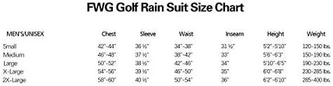 ゴルフジャケット パンツ付き メンズ レディース 防水レインスーツ 取り外し可能なスリーブ 通気性 拡張可能 収納可能