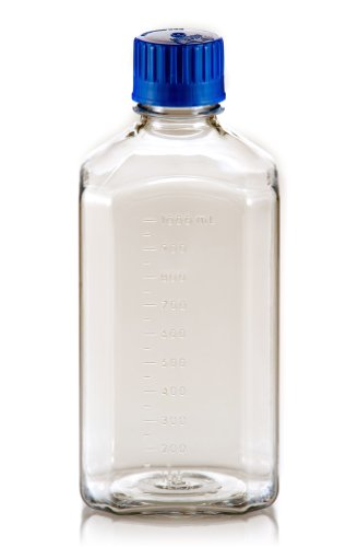TriForest BGC1000SB PETG Square Media Bottle, 1000ml, 92