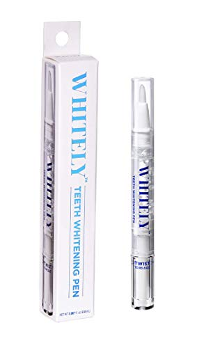 WHITELY Premium Teeth Whitening Pen (1 Pack), 35% Carbamide Peroxide Gel, 15+ Uses, No Sensitivity, Painless, Effective, Easy to Use, Travel-Friendly, Natural Mint Flavor