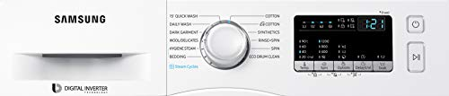 Samsung 7.0 Kg Fully-Automatic Front Loading Washing Machine (WW70J42G0BW/TL, White, Hygiene Steam) 2021 June Fully-automatic front load washing machine: Works Smart Stays Young Capacity 7 kg: Suitable for families with 3 to 4 members Manufacturer Warranty: 3 Year warranty on product and 10 years on motor