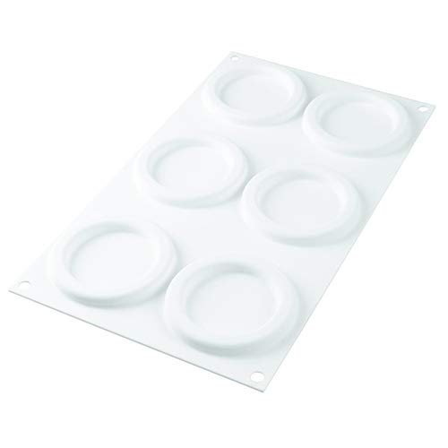 Silikomart The-Ring-65 Set of 2 Silicone Molds with 1 Plastic Cutter by Silikomart (Image #2)