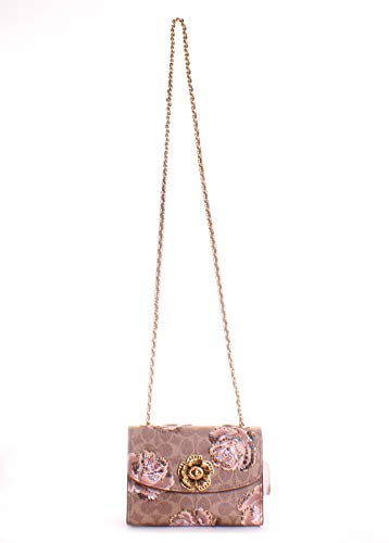 Parker Signature 18 Print Coach Crossbody Bag Rose wzxpwqO