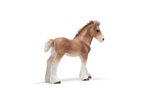 Clydesdale Foal (Schleich Clydesdale Foal Toy Figure by Schleich)