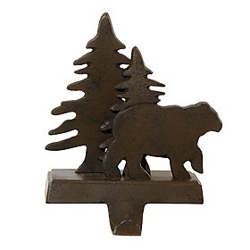 Tree Stocking Hanger (Park Designs Bear and Tree Stocking Hanger)