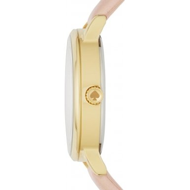 Kate Spade KSW1059 Ladies Metro Brown Leather Strap Watch