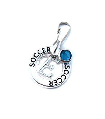 Amazon Com Soccer Zipper Pull Soccer Gifts Soccer Player Gift