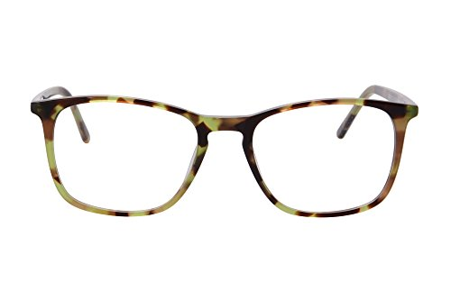 SHINU Acetate Frame Unisex Anti Blue Light Progressive Multifocus Reading Glasses-MAT042(C11,0/175)