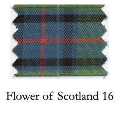 Scotland Tartan Ribbon - Berisfords R76227/16 | Flower of Scotland Woven Tartan Ribbon | 25m x 7mm