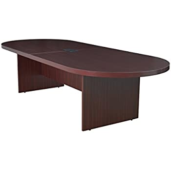 Amazoncom Regency Legacy Inch Racetrack Conference Table Power - 120 conference table