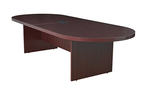 Regency Legacy 120-inch Racetrack Conference Table with Power Data Grommet- Mahogany