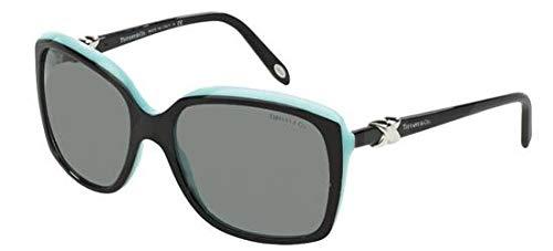 Tiffany 4076 80553F Black TF4076 Square Sunglasses Lens Category 2 Size 58mm (Tiffany Victoria)