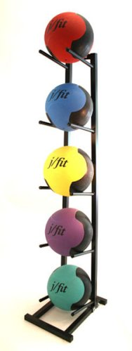 JFIT j/fit Medicine Ball Rack