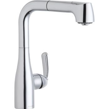 picture of Elkay LKGT2042CR Gourmet Chrome Bar Faucet