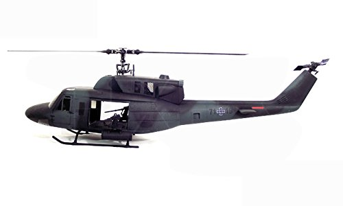 Toy, Play, Fun, Military UH-1 500 Bell UH-1N Twin Huey 500 Scale Fiberglass Fuselage With Weapons Licensed Bell Helicopter Product, Children, Kids, Game