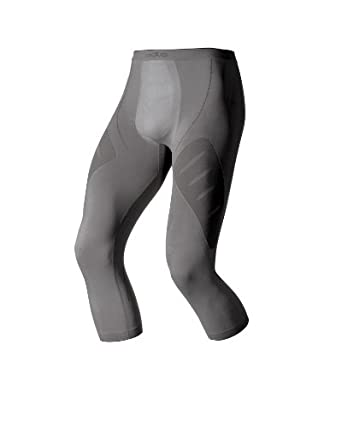 Odlo Evolution - Pantalones para hombre tamaño S color gris 181052 181052_18800-S