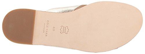 Cole Cross Anica Glitter Womens Silver Sandal Criss Haan Slide TPqzrxwHTn