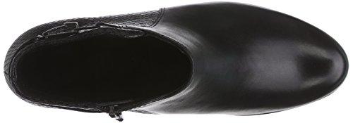 Ecco Touch 35, Bottes Classics Courtes, Doublure Froide Femme Noir - Schwarz (Black/Black51707)