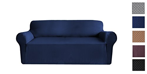 YOKAT Sofa Covers Square Pattern Polyest - Fabric Square Sofa Shopping Results