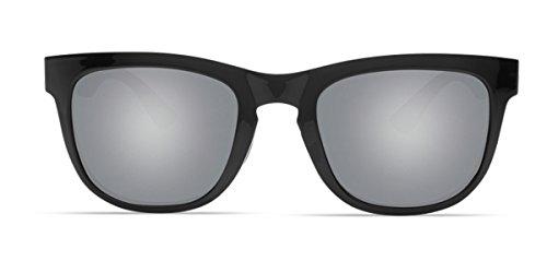 5f698ef85a Amazon.com  Costa Del Mar Copra Sunglasses Shiny Black Mint Gray Silver  Mirror 580Plastic  Sports   Outdoors