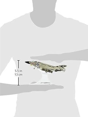 Forces of Valor U.S. F-4J Phantom II USS Constellation Aircraft Diecast Vehicle (1972), Scale 1:72