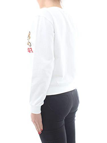 A Underwear Sudaderas Blanco 1710 Moschino Mujer 9029 qwpTzR
