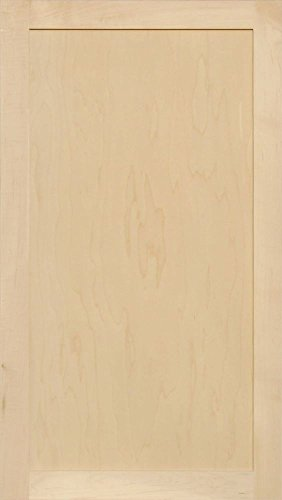Unfinished Maple Shaker Cabinet Door by Kendor, 39H x 22W by Kendor