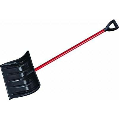 """Ames"" Poly Snow Shovel with D-Grip Handle, 16"", Blade"