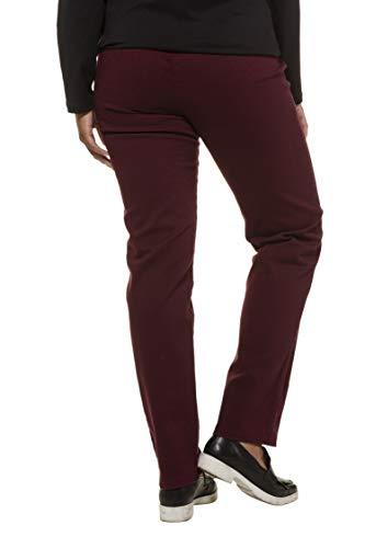Mony 66 64 Droite 83 Pantalon Tailles Ulla Grandes Femme Bordeaux Coupe Popken Ajustée 624655 Chino PqwAz4
