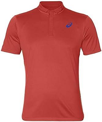 ASICS Polo Club Polo-Shirt Rojo: Amazon.es: Deportes y aire libre