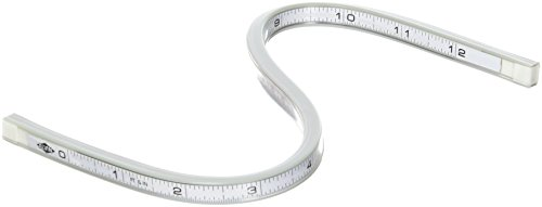 (Alvin A1044-12 Truflex II Lightweight Flexible Curve White (12