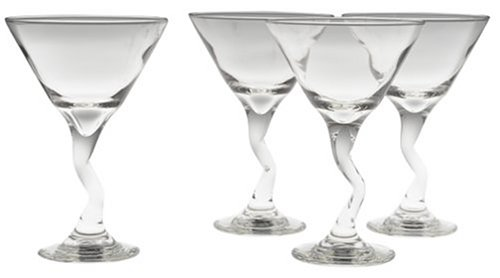 Libbey Z-stem Glass martini 4-pc. Set