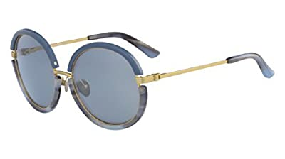 Sunglasses CALVIN KLEIN CK 8056 S 434 BLUE/LIGHT BLUE HORN