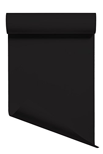 Heat Transfer Vinyl HTV/Iron-on 12 Inches by 3 Feet Roll (Black)