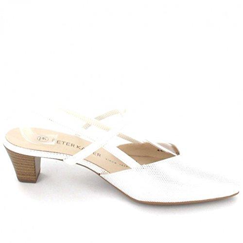 Peter Kaiser Sling Sandalette , Farbe: weiß Weiß