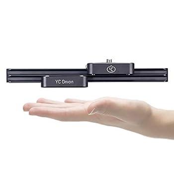 Image of Camera Sliders Camera Slider Portable Mini 9'/23cm Hydraulic Damping for DSLR Camera Video Vlog Phone GoPro - by YC Onion