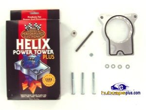 Street and Performance Electronics 57015 Helix Power Tower Plus Throttle Body Spacer 1996-2000 GM Truck