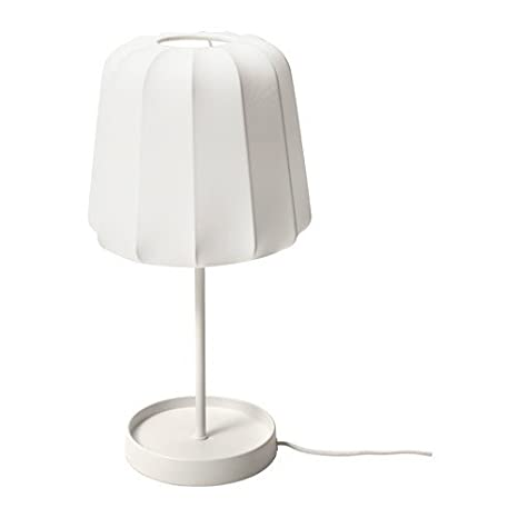 Ikea varv lámpara de mesa en color blanco; (52 cm): Amazon ...