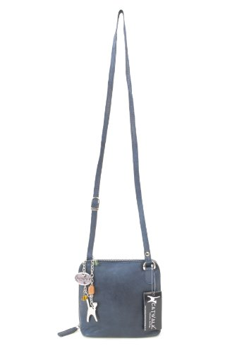 CATWALK COLLECTION - LENA - Bolso bandolera - Cuero Azul