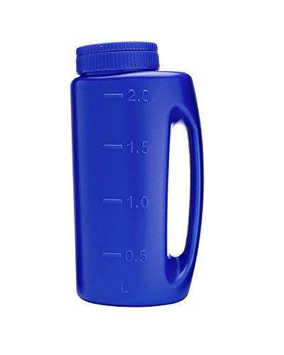 (Shark Reusable and Adjustable Handheld Spreader Shaker for Seeds, Salt, Fertilizer, Diatomaceous Earth, Deicing, Ice Melt, Granule)