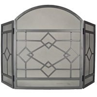 HOMEBASIX CPO61153NN Fireplace Screen, N...