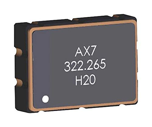 2 item ABRACON AX7PAF1-156.2500C AX7 Series 7 x5x 1.8 mm 3.3 V 156.25 MHz /±25 ppm LVPECL Clearclock XO Oscillator s