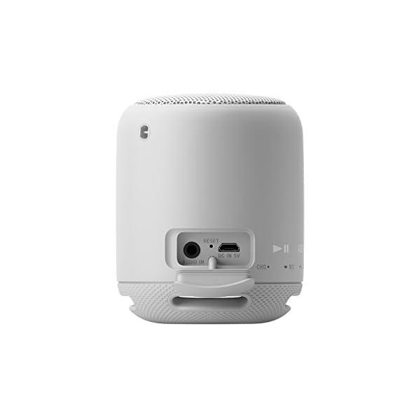 Sony SRS-XB10W Enceinte portable compacte sans fil Bluetooth NFC - Blanc 6