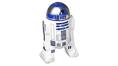 (Zak Designs SWRD-0973 star Wars Ep4 R2D2 ceramic Sculpted Bank, Small, Multicolor)