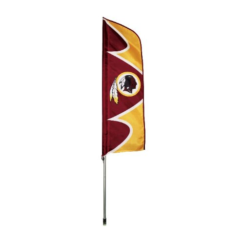Flag Nfl Pole - Party Animal Washington Redskins NFL Swooper Flag and Pole