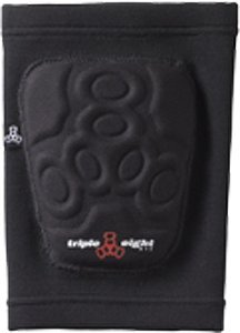 Triple 8 Covert Knee Pads, Black, Small