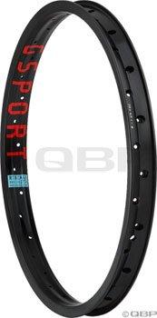 G Sport Rib Cage 20 x 1.75 36 Hole Hard Black Rim