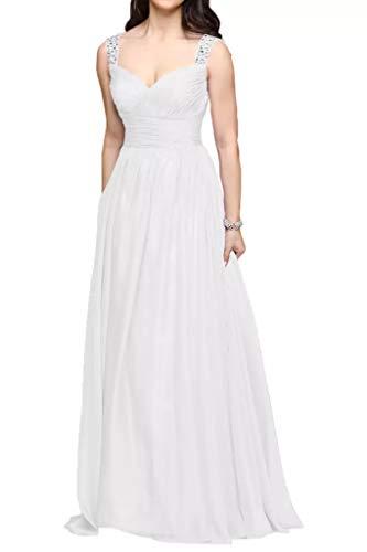 Traeger Abschlussballkleider Anmutig Marie La lang Linie Pailletten Braut Partykleider Abendkleider A Weiß Breit 8wIxEFxq